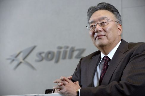 Sojitz Corp Chief Executive Officer Yoji Sato
