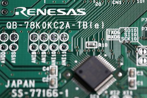 Japan Rescue Fund May Counter KKR Bid for Chipmaker Renesas