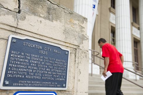 Stockton Said Poised for First Step to Bankruptcy