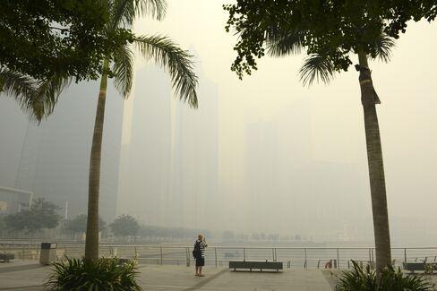 Hazardous Haze Clouds Singapore Tourism Outlook