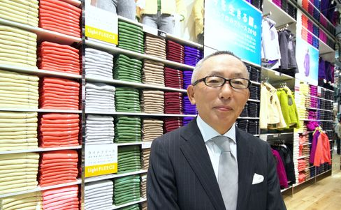 Billionaire Yanai 'Targets World' as Zara, H&M Expand