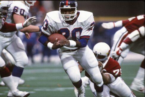 Former New York Giants Running Back Joe Morris