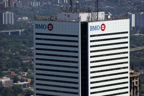 Bank of Montreal Profit Rises 19%