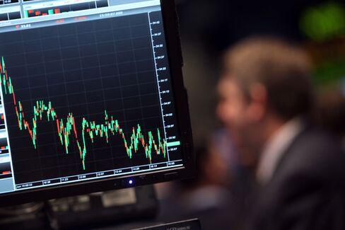 U.S. Stocks Decline on European Woes