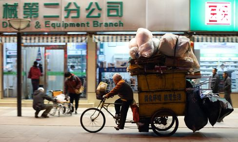 China Data Show Weaker Start to 2013 as U.S. Economy Strengthens