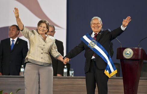 Salvadoran President Salvador Sanchez Ceren