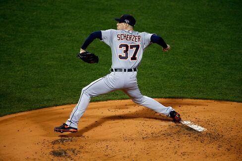 MLB Pitcher Max Scherzer