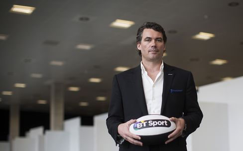 Incoming CEO of BT Group Plc Gavin Patterson