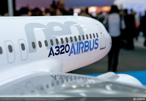 Boeing's Air-Show Revival Leaves Airbus Nursing A320neo Hangover