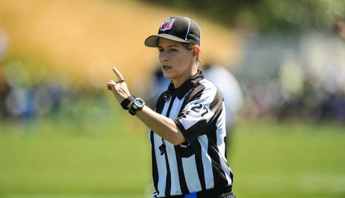 NFL Taps Shannon Eastin as First Female to Officiate League Game