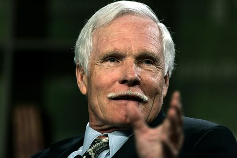 Ted Turner Taking Coal Funds to Create Solar Odd Couple