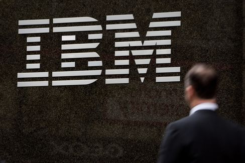 IBM Contracts Most Expensive Since 2005 as Sales Slump