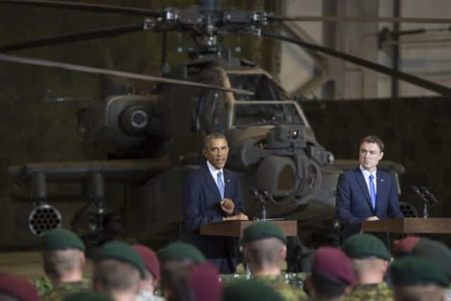 Obama's rhetoric in Estonia may not have inspired awe.