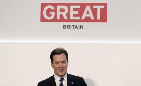 U.K. Unexpectedly Posts Budget Deficit as Corporation Taxes Drop