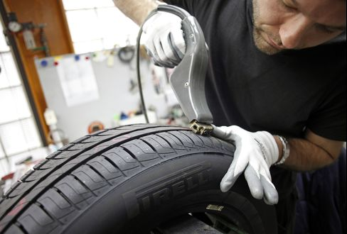 Europe's Grades Make Tires More Than Round and Black