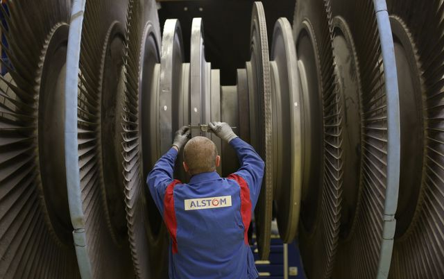 The French government didn't build this turbine. Photographer: Chris Ratcliffe/Bloomberg