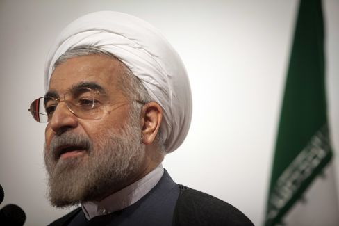 Iranian President-elect Hassan Rohani
