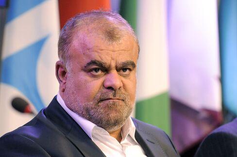 Iran's Oil Minister Rostam Qasemi