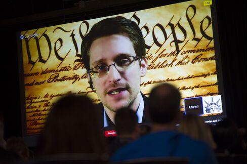 Former NSA Contractor Edward Snowden