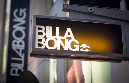 Billabong's New Bids Leave Traders Shunning Risky Bet