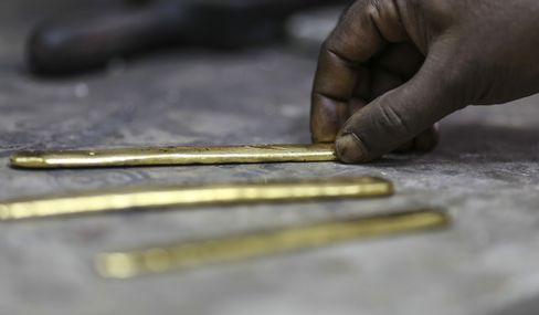Gold Declines for Third Day
