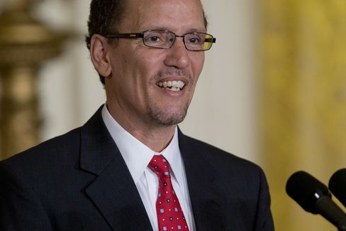 U.S. Sec. of Labor Nominee Thomas Perez