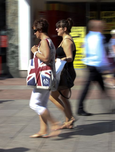 U.K. Retail-Sales Index Rises to Highest in More Than a Year