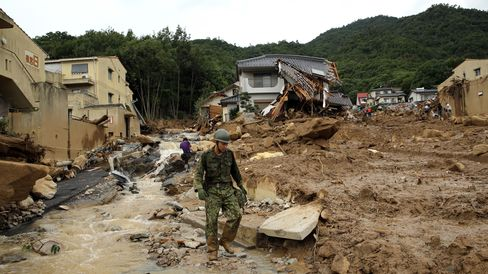 Landslide in Hiroshima