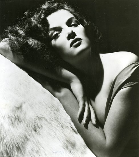 American actress Jane Russell