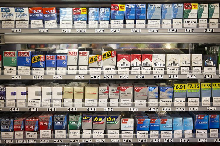 Buy coloured cigarettes 555 USA
