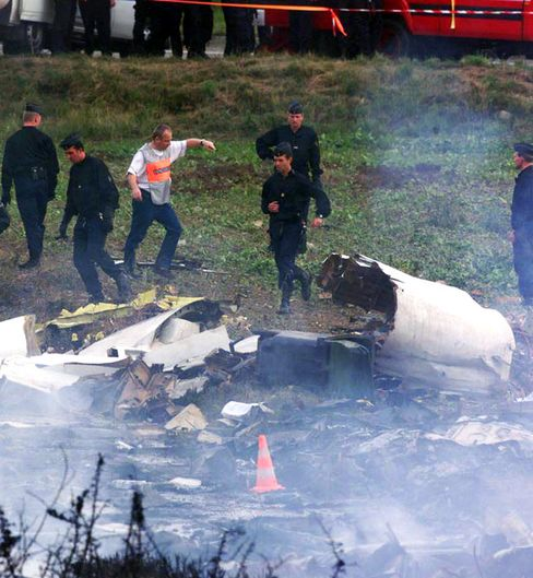Air France Concorde crash