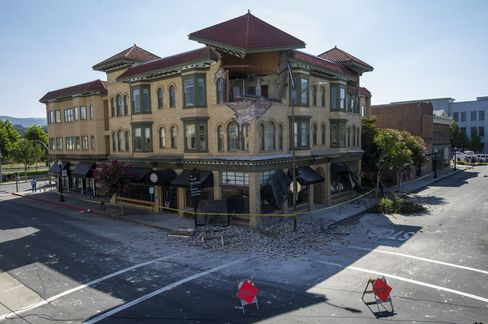 Earthquake in Napa