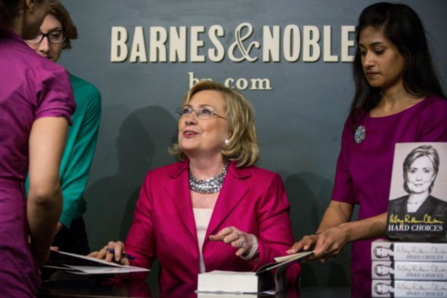 Hillary Clinton has more to worry about than a book tour.