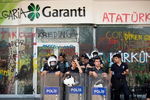 Koc Joins Garanti as Companies Draw Erdogan Anger Over Protests