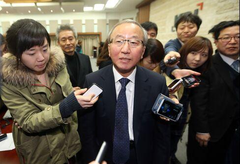 South Korea's newly named Finance Minister Hyun Oh Seok