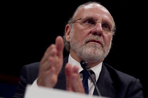 Former MF Global Chairman Jon Corzine
