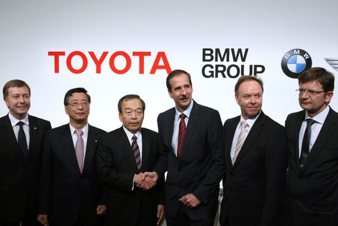 BMW to Supply Toyota With Diesel Engines in Partnership Deal