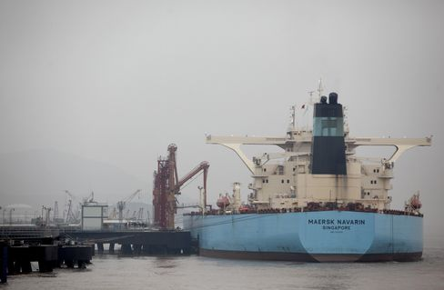 Tanker Rates Pain Prolonged as China Imports Pass U.S.