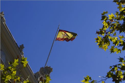 Coene Says Widening Spreads May Force Spain to Ask for Aid