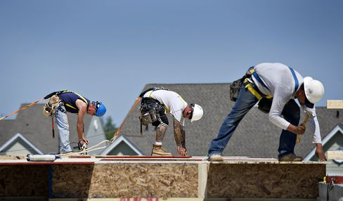 Homebuilder Confidence in U.S. Rose in August to Five-Year High