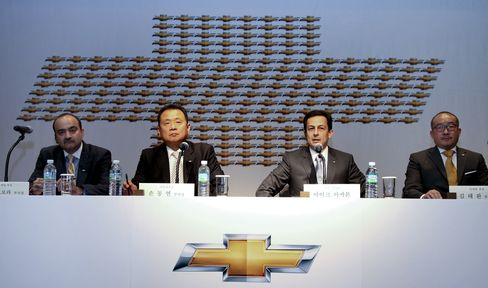 GM Daewoo Auto & Technology Co. News Conference