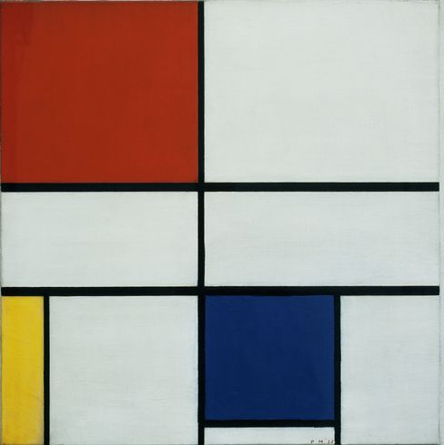 ``Composition C (no.III), with Red, Yellow and Blue''