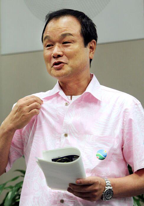 Honda Motor Co. President Takanobu Ito