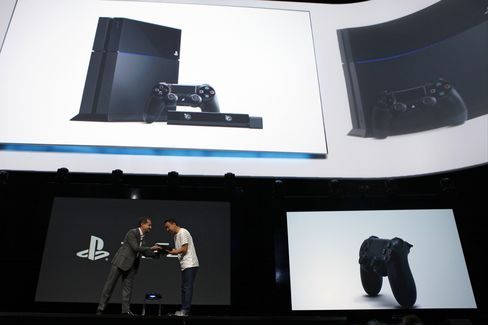 Sony Unveils PlayStation 4 Console Pressing Fight With Microsoft