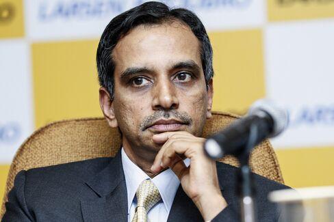 Larsen & Toubro Ltd. Chief Financial Officer R. Shankar Raman