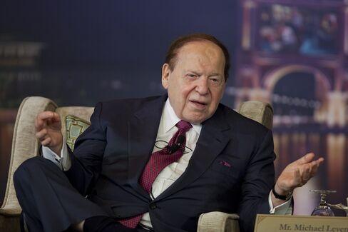 Las Vegas Sands CEO Billionaire Sheldon Adelson