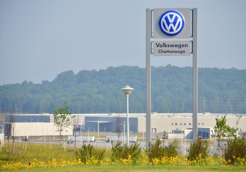 Volkswagen AG Factory in Tennessee