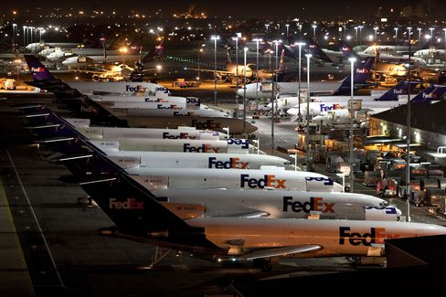 FedEx Avoiding Sideways Twisters Lets Freighters Fly Frequently