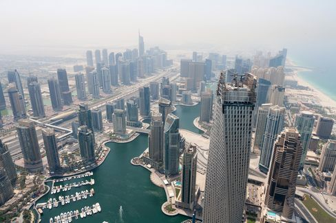 Skycrapers and developments in Dubai