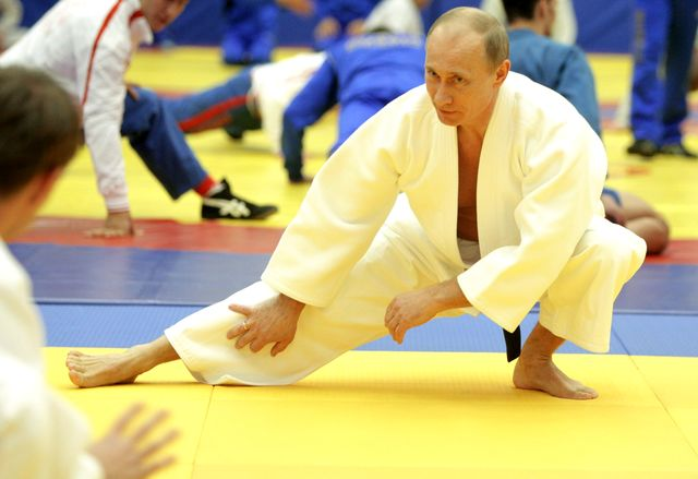 Russians take pride in Putin's athletic prowess.
